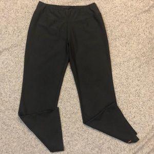 LUCY M Short Dark Gray Yoga Athletic Pants